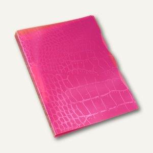 Ringbuch Trend Kroko A4