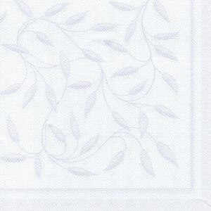 Papstar Servietten ROYAL Collection New Mediterran, 40x40cm,weiß,160St., 16930