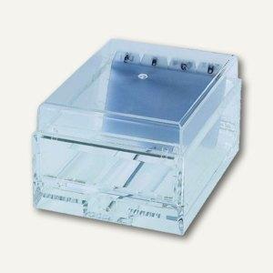 Karteikartenbox Visitenkartenbox Din A8 Acryl 150x110x80mm Klar
