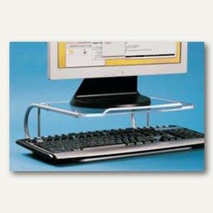 Monitorständer ESSENTIAL + Tastaturablage