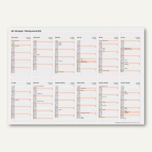 Wandplaner Jahresplaner
