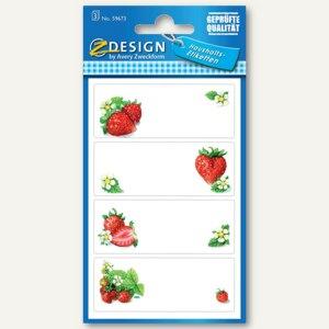 Einmachetiketten Erdbeeren