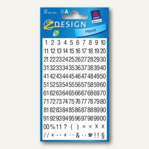 Z-Design Zahlen-Sticker