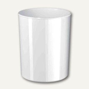 "HAN Papierkorb ""i-Line"", 20 Liter, hochglänzend, weiß, 18200-12"
