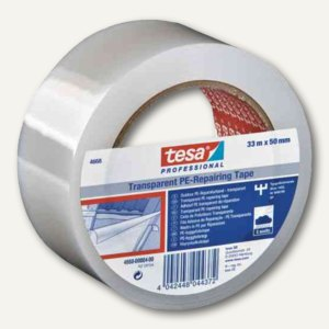 Tesa Folienband 4668 MDPE, 50 mm x 33 m, transparent, 1 Rolle, 04668-00004-00