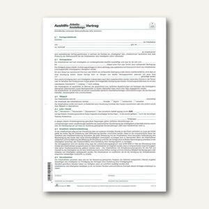 Anstellungsvertrag Aushilfe