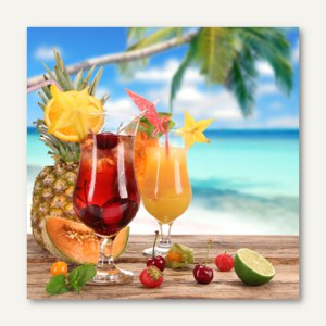 Motivservietten Cocktail
