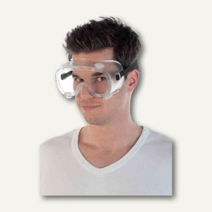 Antibeschlag-Vollsichtschutzbrille, auch für Brillenträger, 8510