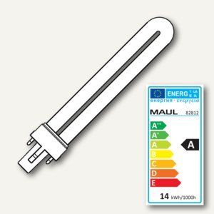 Maul Energiespar Leuchtmittel Sockel G23 11w 6500k 220 240v 8281205
