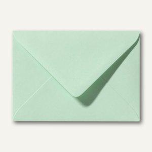 Farbige Briefumschläge 80 x 114 mm, C7, 120 g/m˛, nassklebend, frühlingsgrün, 50