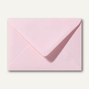Briefumschläge 110 x 156 mm nassklebend ohne Fenster hellrosa 500st.