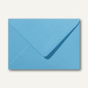 Briefumschläge 110 x 156 mm nassklebend ohne Fenster ozeanblau 500St.