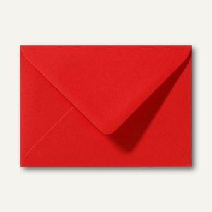 Briefumschläge 110 x 156 mm nassklebend ohne Fenster korallenrot 500St.
