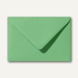 Briefumschläge 110 x 156 mm nassklebend ohne Fenster wiesengrün 500St.