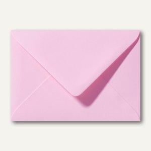 Briefumschläge 120 x 180 mm nassklebend ohne Fenster dunkelrosa 500St.