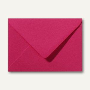 Briefumschläge 120 x 180 mm nassklebend ohne Fenster fuchsie 500St.