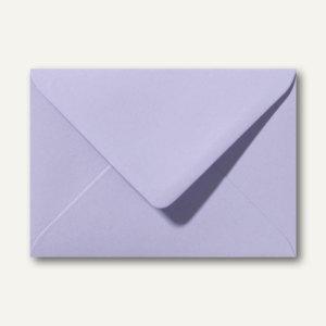 Briefumschläge 120 x 180 mm nassklebend ohne Fenster lavendel 500St.
