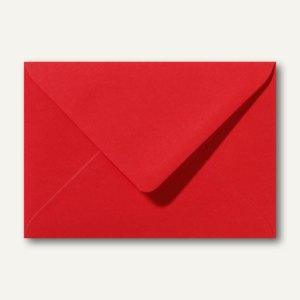 Briefumschläge 120 x 180 mm nassklebend ohne Fenster rosenrot 500St.