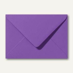 Briefumschläge 120 x 180 mm nassklebend ohne Fenster violett 500St.