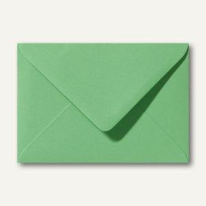 Briefumschläge 120 x 180 mm nassklebend ohne Fenster wiesengrün 500St.