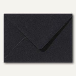 Briefumschläge 120 x 180 mm nassklebend ohne Fenster schwarz 500St.