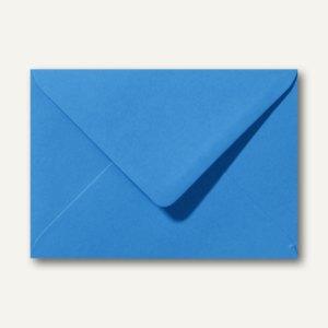 Farbige Briefumschläge 156 x 220 mm nassklebend ohne Fenster königsblau 500St.