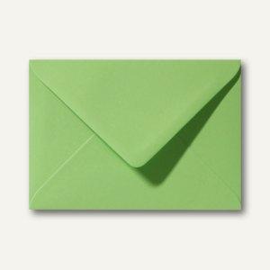 Farbige Briefumschläge 156 x 220 mm nassklebend ohne Fenster apfelgrün 500St.