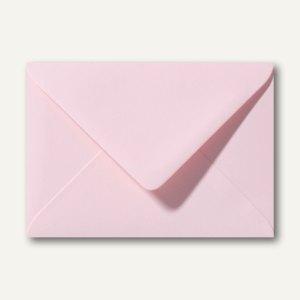Farbige Briefumschläge 156 x 220 mm nassklebend ohne Fenster hellrosa 500St.