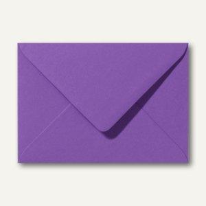 Farbige Briefumschläge 156 x 220 mm nassklebend ohne Fenster violett 500St.