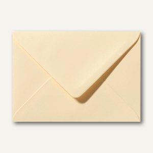Farbige Briefumschläge 156 x 220 mm nassklebend ohne Fenster chamois 500St.