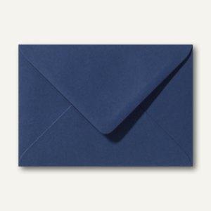 Farbige Briefumschläge 156 x 220 mm nassklebend ohne Fenster dunkelblau 500St.