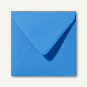 Briefumschläge 120 x 120 mm nassklebend ohne Fenster königsblau 500St.