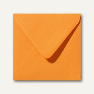 Briefumschläge 120 x 120 mm nassklebend ohne Fenster grellorange 500St.