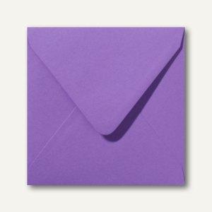 Briefumschläge 120 x 120 mm nassklebend ohne Fenster violett 500St.