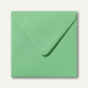 Briefumschläge 120 x 120 mm nassklebend ohne Fenster wiesengrün 500St.