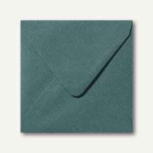 Briefumschläge 120 x 120 mm nassklebend ohne Fenster dunkelgrün 500St.