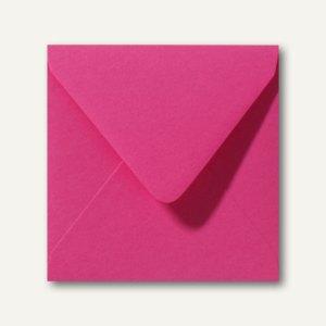 Farbige Briefumschläge 140 x 140 mm nassklebend ohne Fenster fuchsie 500St.