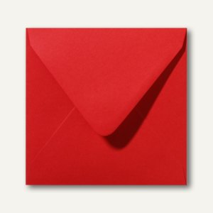 Farbige Briefumschläge 140 x 140 mm nassklebend ohne Fenster rosenrot 500St.