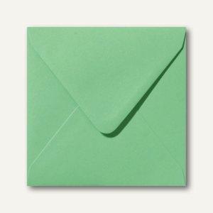 Farbige Briefumschläge 140 x 140 mm nassklebend ohne Fenster wiesengrün 500St.