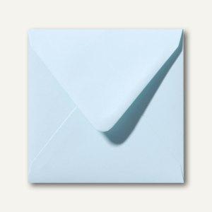 Farbige Briefumschläge 160 x 160 mm nassklebend ohne Fenster hellblau 500St.