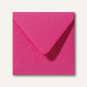 Farbige Briefumschläge 160 x 160 mm nassklebend ohne Fenster fuchsie 500St.