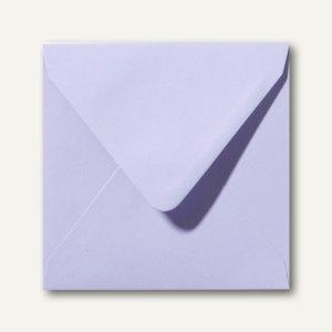 Farbige Briefumschläge 160 x 160 mm nassklebend ohne Fenster lavendel 500St.