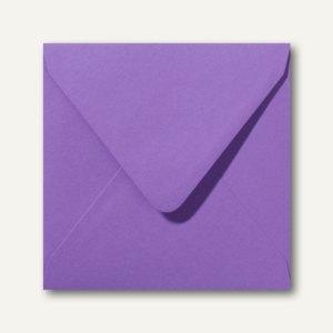 Farbige Briefumschläge 160 x 160 mm nassklebend ohne Fenster violett 500St.