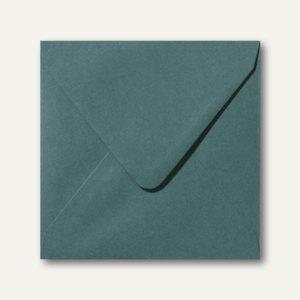 Farbige Briefumschläge 160 x 160 mm nassklebend ohne Fenster dunkelgrün 500St.