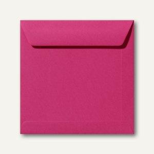 Farbige Briefumschläge 170 x 170 mm nassklebend ohne Fenster fuchsie 500St.