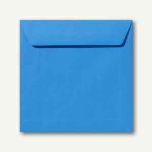 Farbige Briefumschläge 190 x 190 mm nassklebend ohne Fenster königsblau 500St.