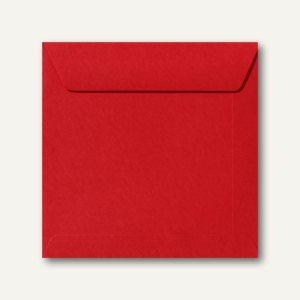 Farbige Briefumschläge 220 x 220 mm nassklebend ohne Fenster rosenrot 500St.