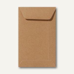 Farbige Briefumschläge 220 x 312 mm nassklebend ohne Fenster braun 500St.