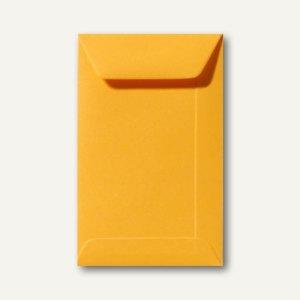 Farbige Briefumschläge 220 x 312 mm nassklebend ohne Fenster goldgelb 500St.