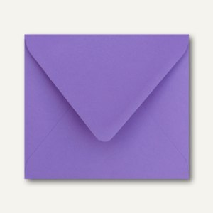 Farbige Briefumschläge 125 x 140 mm nassklebend ohne Fenster violett 500St.